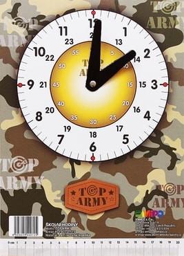 Hodiny školní Top Army Emipo