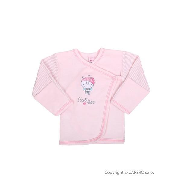 Kojenecká košilka Koala Vilík RŮŽOVÁ vel. 68