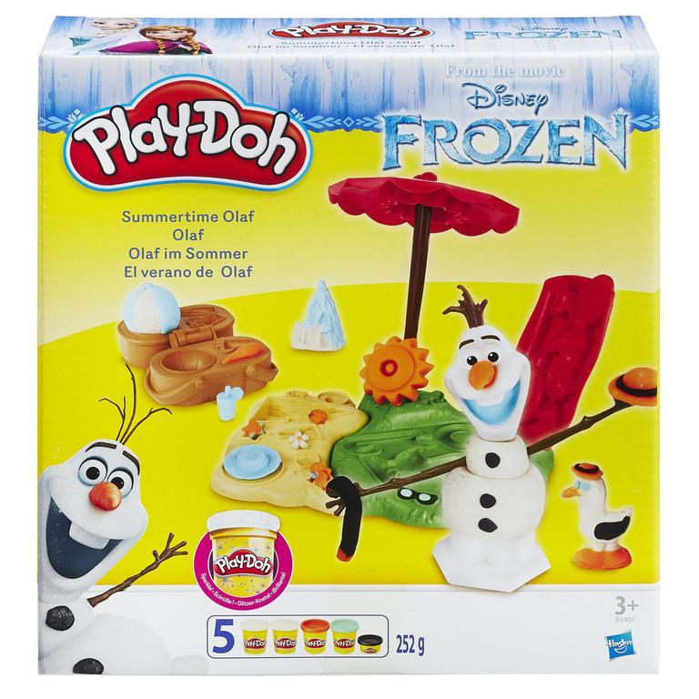Play-Doh Frozen Olaf na pláži