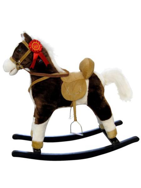 Houpací koník Milly Mally Mustang s bílou hřívou