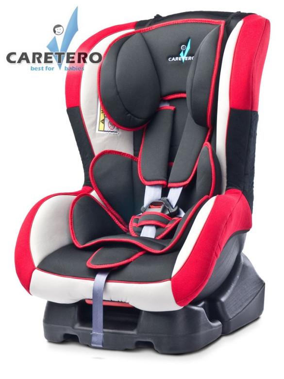 Caretero Autosedačka CARETERO Fenix New red 0 - 18 kg