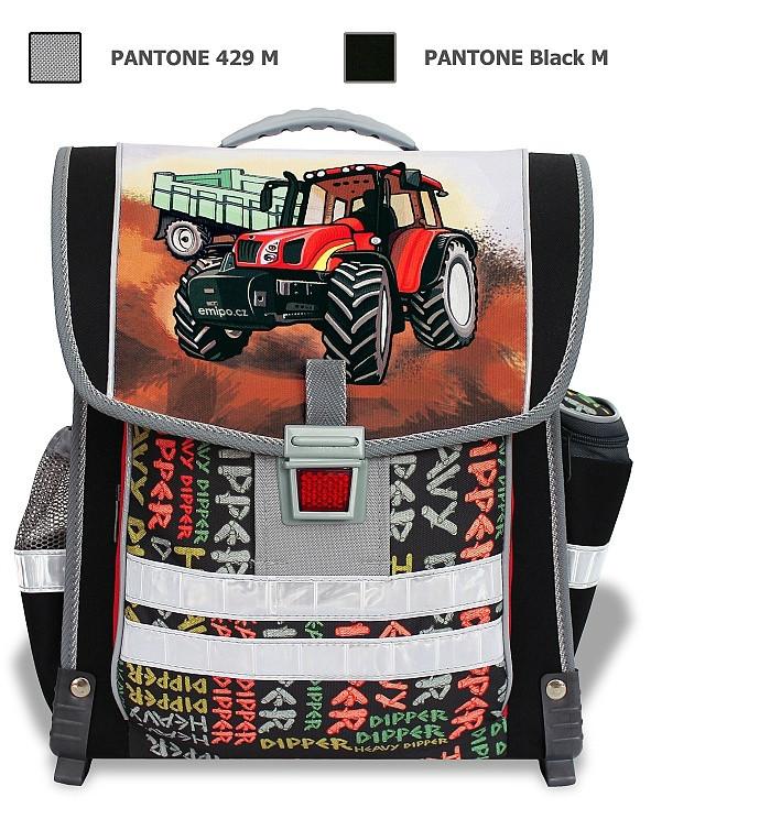 916cbb0ed91 Školní aktovka Traktor Emipo