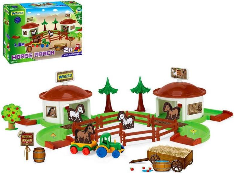 WADER Kid cars 3D Koňský ranč 53410