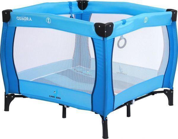 Caretero Dětská skládací ohrádka CARETERO Quadra blue
