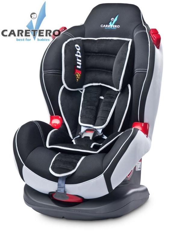 Autosedačka CARETERO SPORT TURBO black 2015