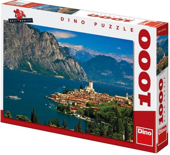 Puzzle Malcesine 66x47cm 1000 dílků