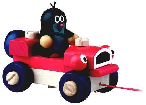 Krtek a mrkací auto