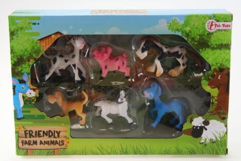 Zvířata farma veselá