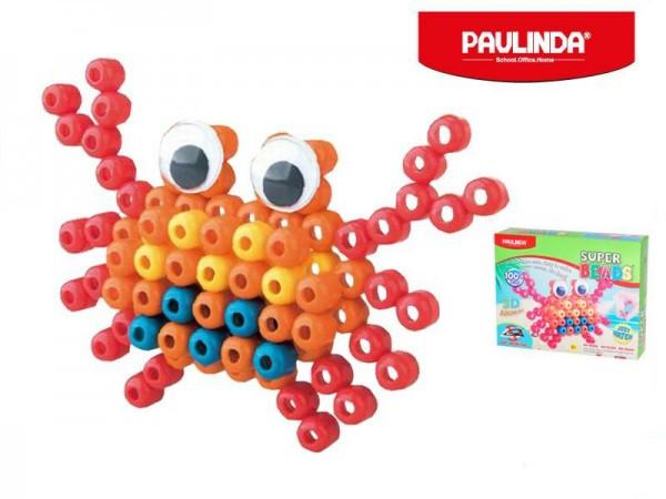 Mozaika vodní perly 3D 100ks plast krab