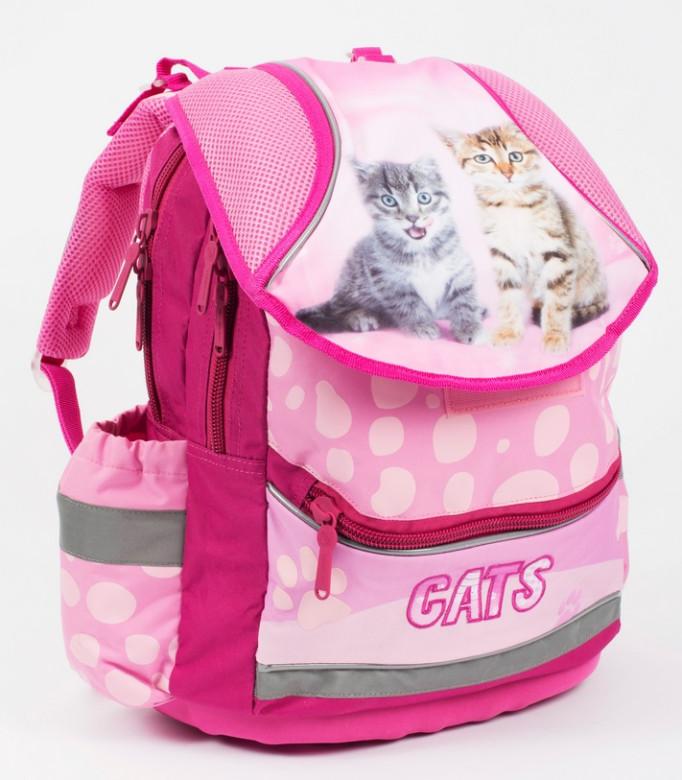 1800913bafe Anatomický školní batoh PLUS kočka