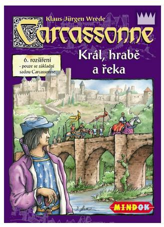 Carcassonne Král, hrabě a řeka