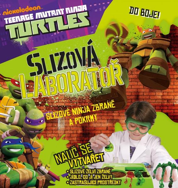 Albi - Želvy Ninja - Slizová laboratoř