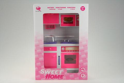 Moderní kuchyňská linka baterie