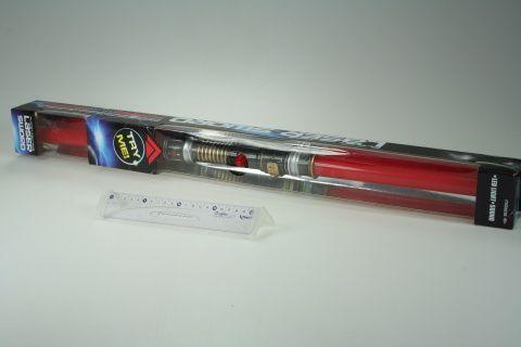 Meč oboustranný se světlem a zvukem 108 cm