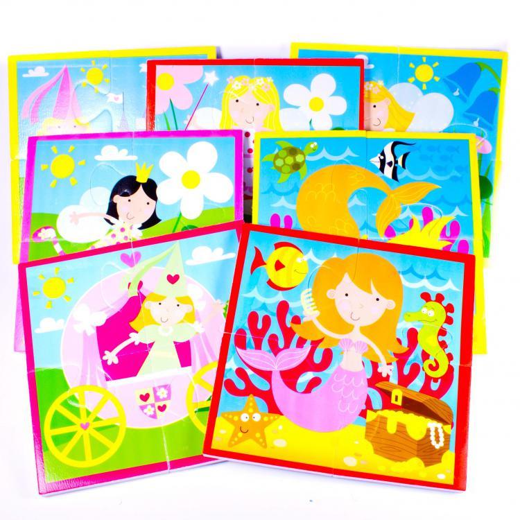 Meadow Puzzle do vany Víly a princezny