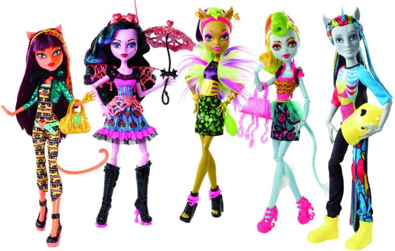 Mattel Monster High Monster High Monstrozní splynutí najednou kříženci