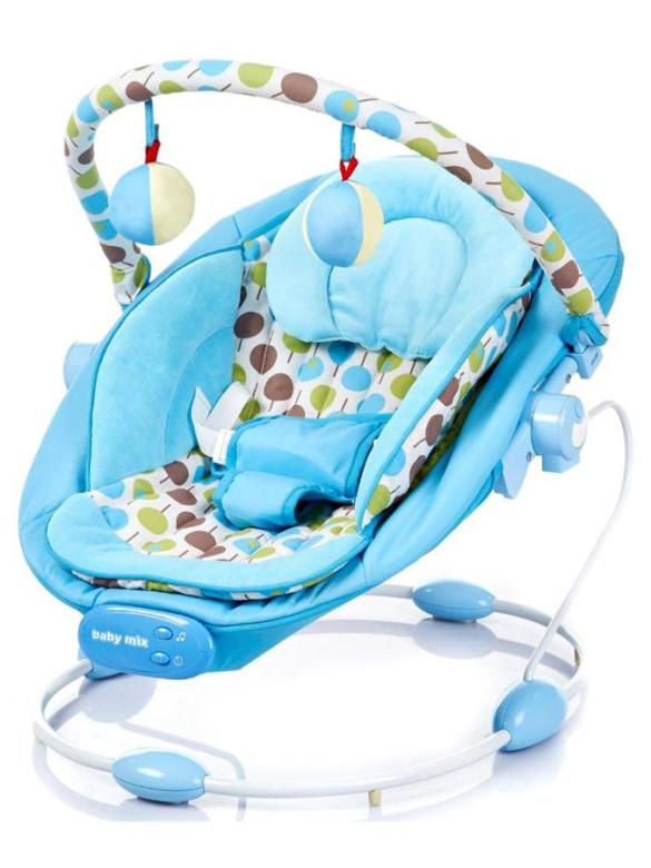 Dětské lehátko Baby Mix blue