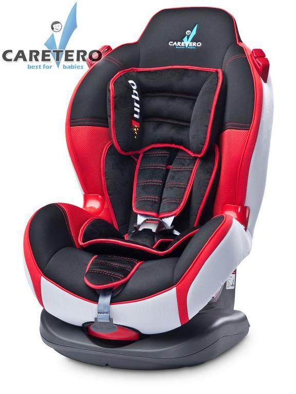 Autosedačka CARETERO SPORT TURBO red 9 - 25 kg