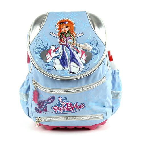 Školní batoh Cool - Zrzka s kytarami - RockBabe II.