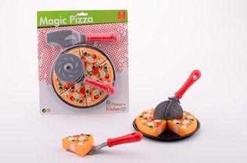 Krájení - Magická pizza