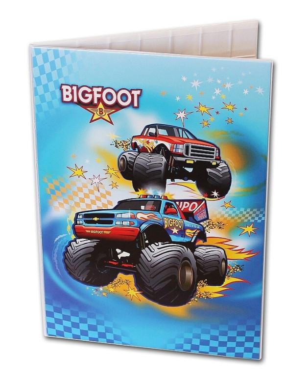 Desky na abecedu Bigfoot