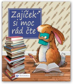 Zajíček si moc rád čte