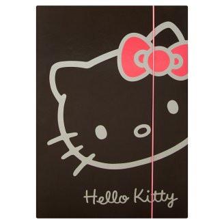Desky na sešity Heftbox A4 Hello Kitty Black
