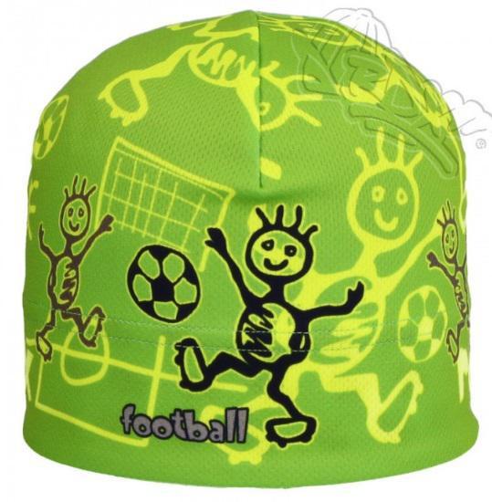Funkční čepice jarní zelená fotbal RDX  8f15dc5d6f