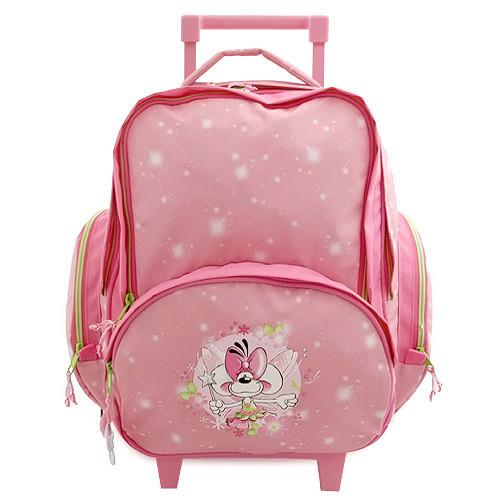 Školní batoh trolley Diddlina - Myška víla