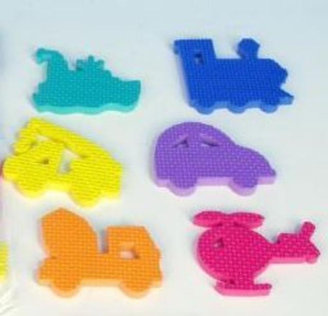 Pěnové hračky do vody doprava