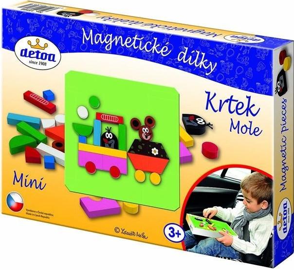 Magnetické dílky Krtek mini