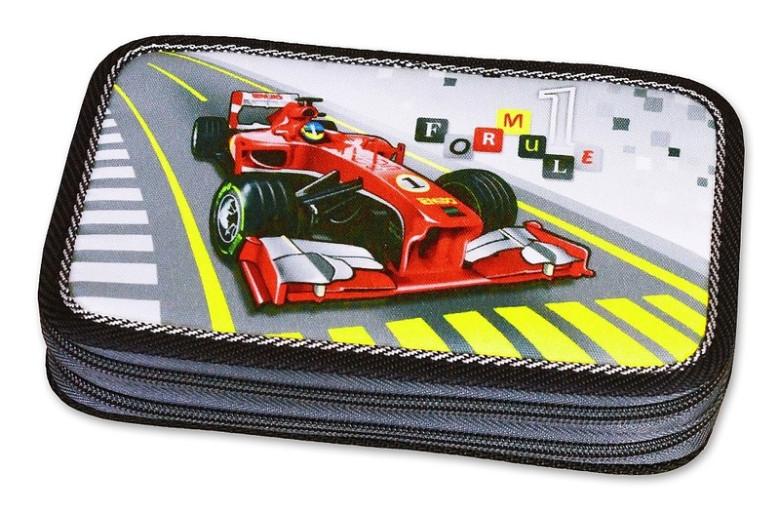 Emipo Školní penál 2-patra plněný Formule Racing