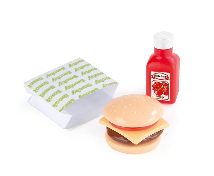 SMOBY Fast food Set HAMBURGER