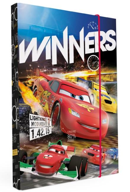 Desky na sešity Heftbox A4 Cars