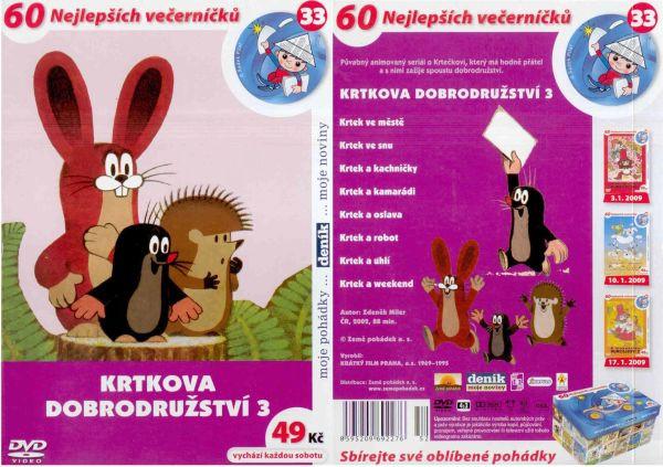 DVD - Krtkova dobrodružství 3