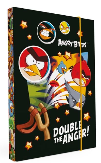 Desky na sešity Heftbox A5 ANGRY BIRDS nezobra