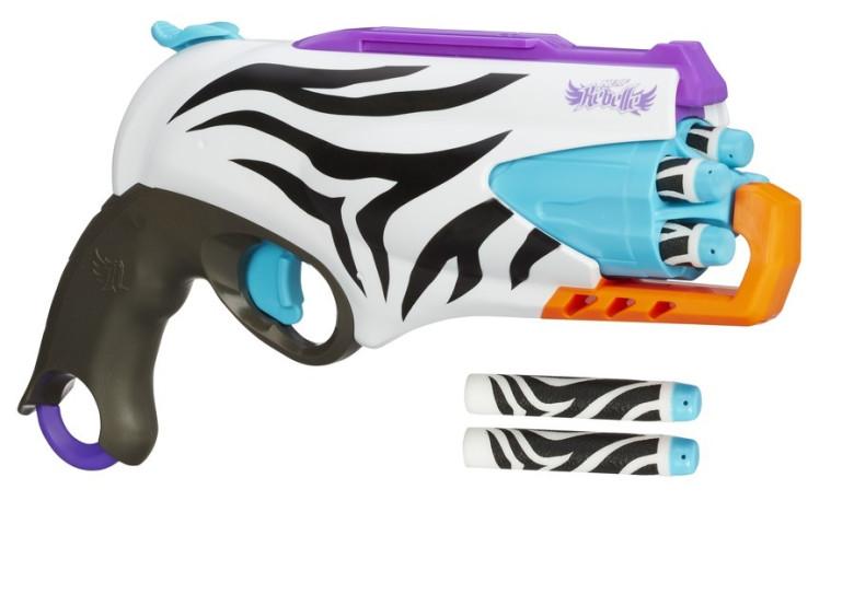 NERF Rebelle Safari pistolka s bubínkovým zásobníkem nezobra
