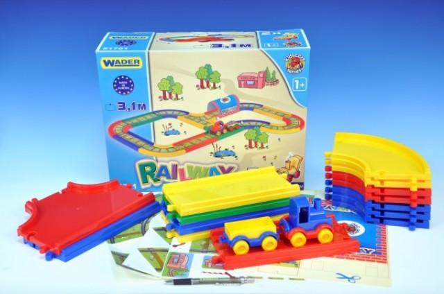 Wader - Kid Cars Železnice 3,1m