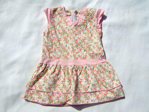 Květované šaty vel. 80 - BAZAR