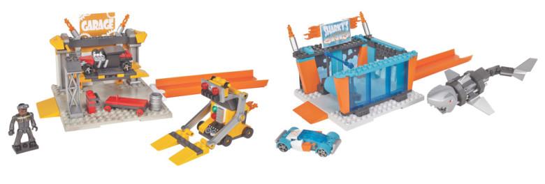 Mega Bloks Mega Bloks Hot Wheels základní hrací set