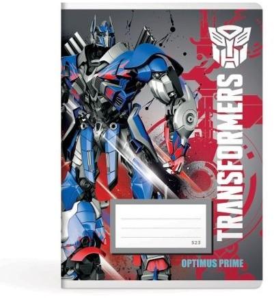 Linkovaný sešit A5, 523 Transformers