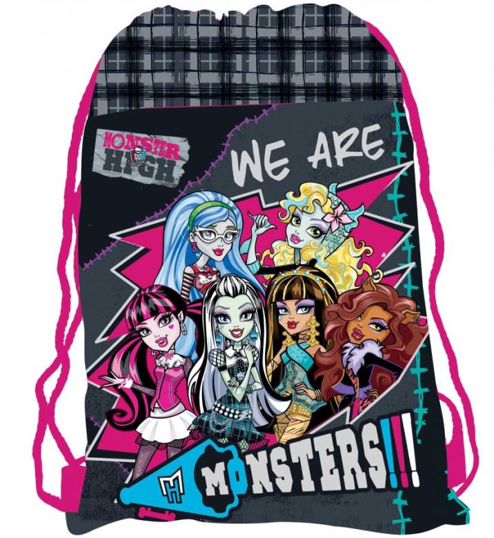 Sáček (nejen) na cvičky Monster High nezobra