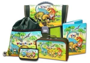 Školní aktovkový set Dinopark 5-dílný Emipo