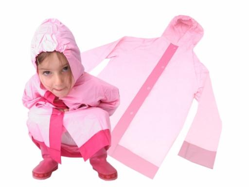 Dětská pláštěnka 3 - 5 let RŮŽOVÁ