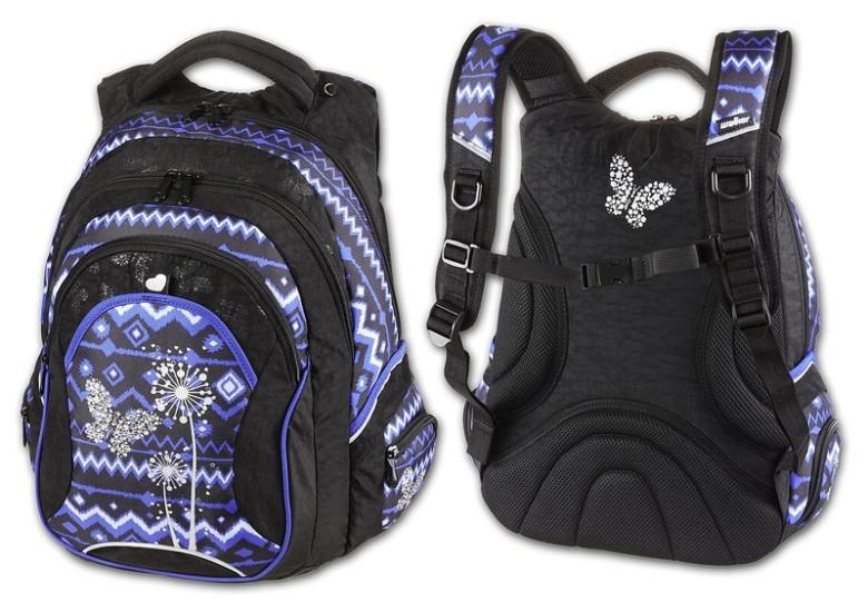 Studentský batoh Paradise modrá Walker  25ef83ada8