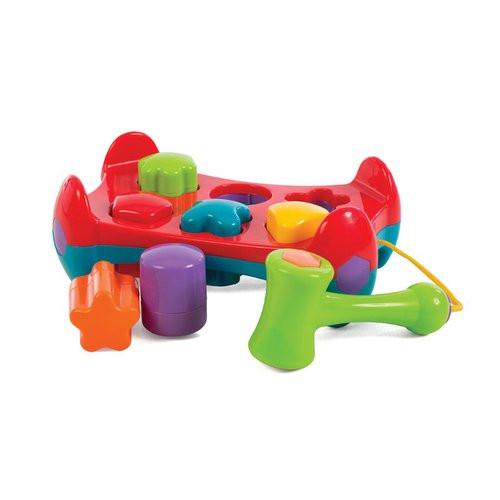 Zatloukačka s tvary Playgro