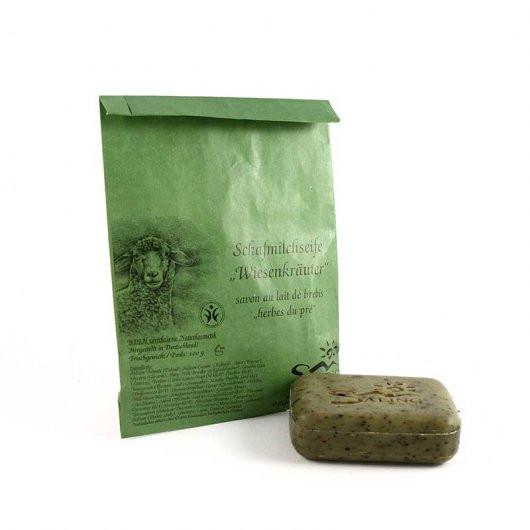 Mýdlo z ovčího mléka luční bylinky (bio)