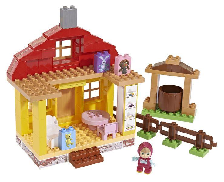 PlayBIG Bloxx Máša a medvěd - Mášin dům