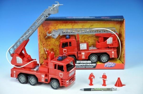 Auto hasiči plast 25cm v krabici