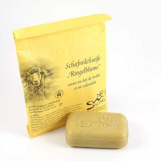 Mýdlo z ovčího mléka s měsíčkem (bio)